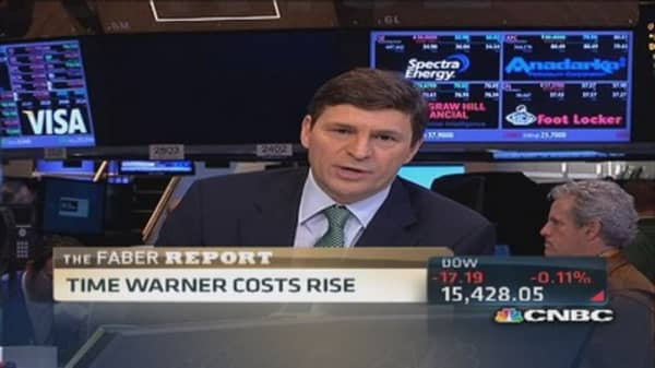 Faber Report: Time Warner costs rise