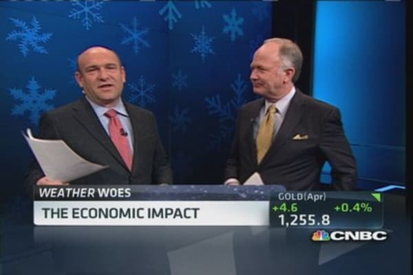 Colder Winter's economic impact