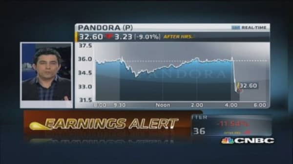 Pandora Q4 earnings out
