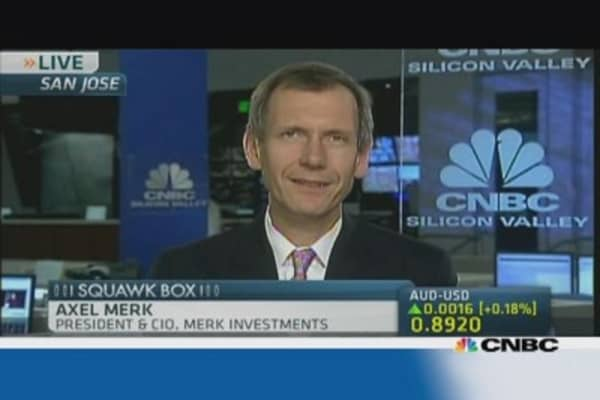 'The glass is half empty right now': Merk