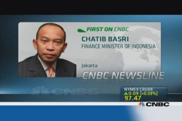 Indonesia fiscal situation improving: Fin Min