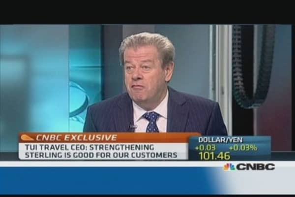 Bad UK weather will 'benefit' us: TUI Travel CEO