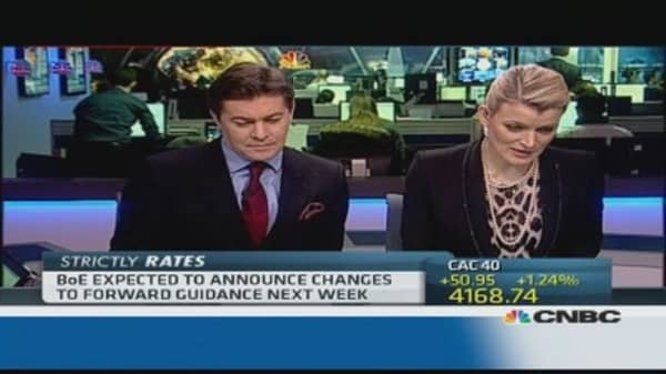 BoE leaves key interest rate unchanged