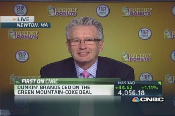Dunkin' CEO: Consumers excited about innovation