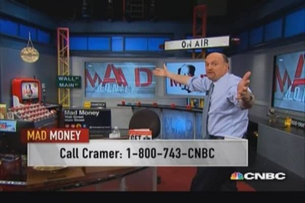 Market wants growth: Cramer