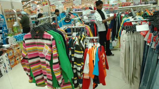 Retail store in Rajouri Garden, New Delhi, India