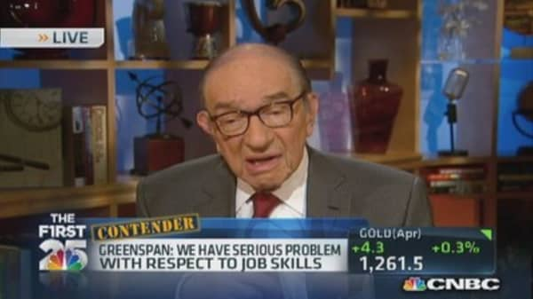 Greenspan on the markets
