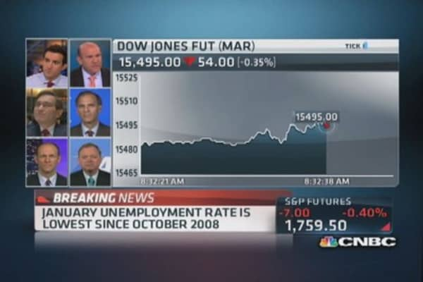 It's a 'weak' jobs report: Liesman