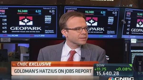 Jobs report not a disaster: Hatzius