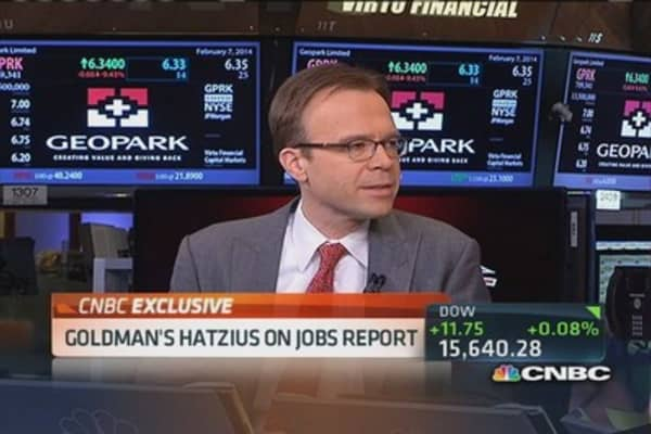 Jobs report not a disaster: Hatzius