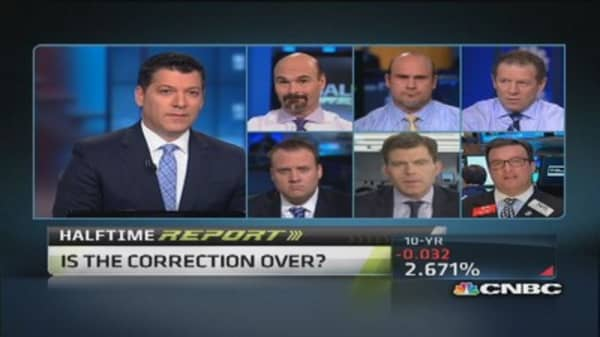 Halftime traders dissect jobs