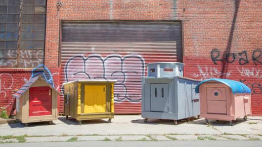 Four Kloehn houses in Oakland