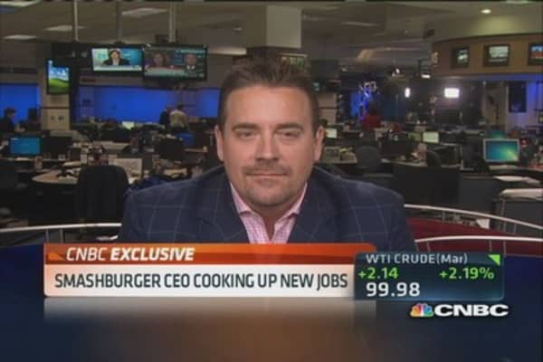 Burgers are a $100 billion category: Smashburger CEO