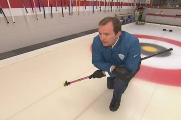 Curling craze
