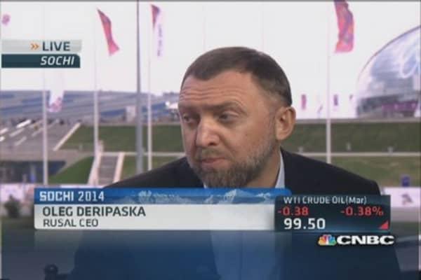 Olympic investor Deripaska: We believe in Sochi