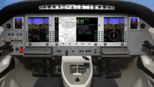 The new Eclipse 550 panel with optional copilot SDU