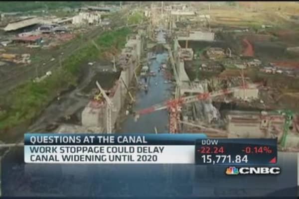 Panama Canal widening