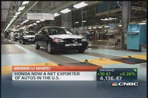 US auto exports hit an all-time high