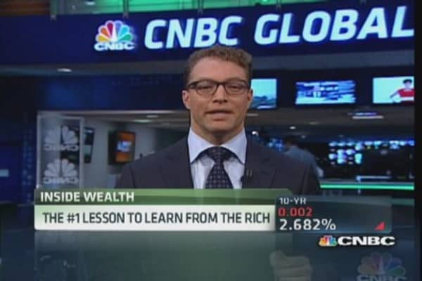 Lessons to learn from the rich
