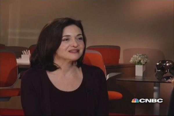 Facebook's COO on women in the workplace