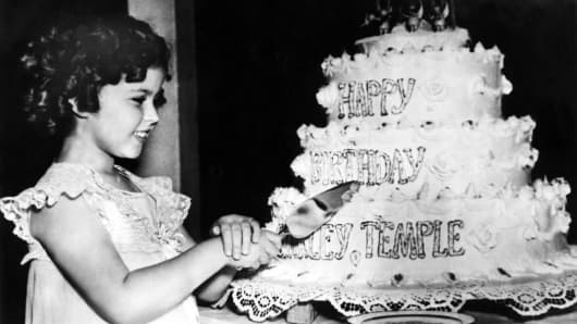 8TH  SHIRLEY TEMPLE ANNIVERSARY IN 1936