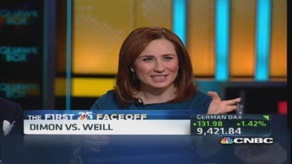 CNBC 25 faceoff: Sandy Weill vs. Jamie Dimon