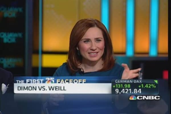 CNBC 25 faceoff: Sandy Weill vs. Jamie Dimon