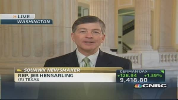 This isn't your father's Fed: Rep. Hensarling