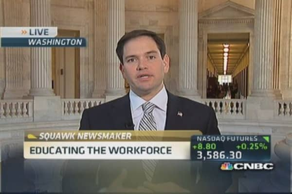 Higher education system is outdated: Sen. Rubio