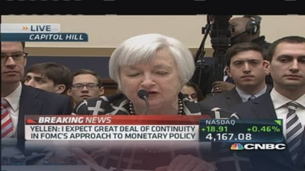Yellen: Labor recovery 'far from complete'