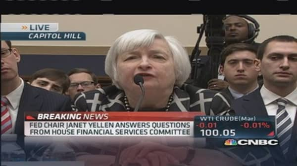 Yellen: Conditions facing economy extremely unusual