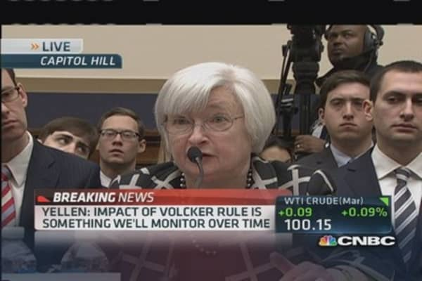 Yellen: Fed has clear QE exit plan