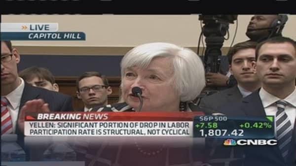 Yellen: Interest rates low for fundamental reason