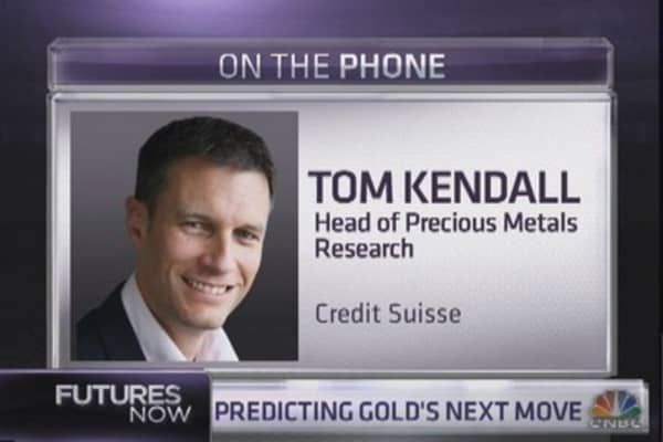 Gold could fall to $1,000: Credit Suisse expert