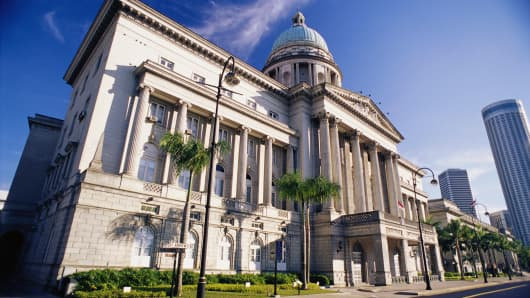 Old Courthouse in Singapore