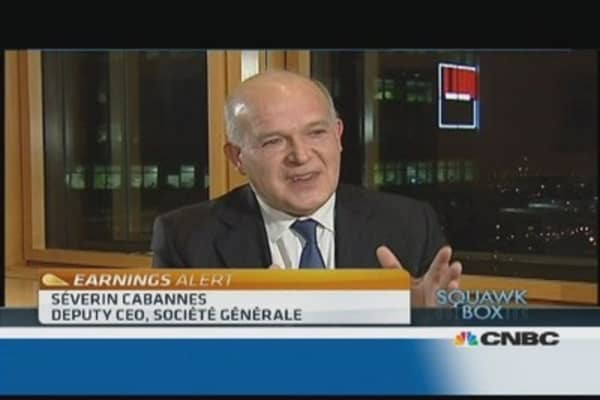 Stress tests have 'no impact' on Societe Generale: Deputy CEO