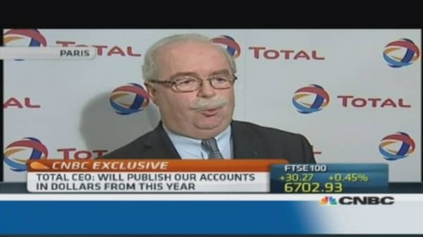 We were better than our competitors: Total CEO
