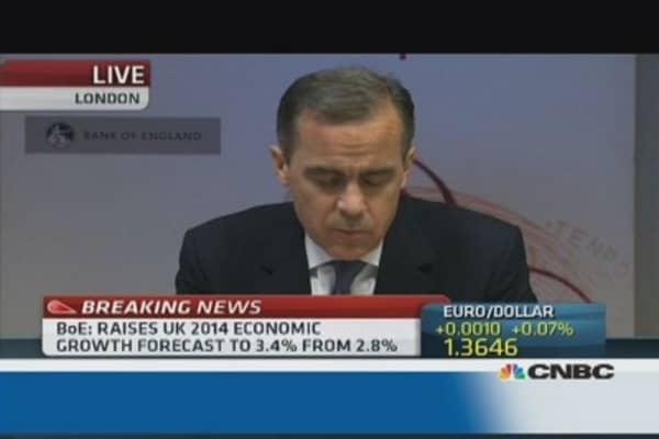 Forward guidance is working: BoE's Carney