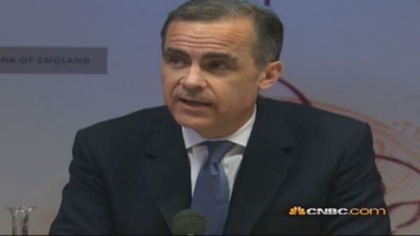 BoE's Carney sets out next phase of forward guidance