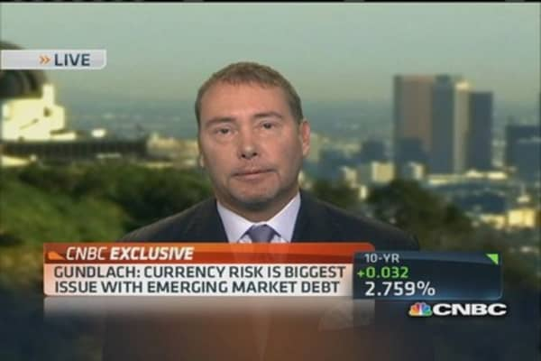 Gundlach: Market has discounted tapering concept