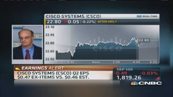 Cisco not high growth company: Pro