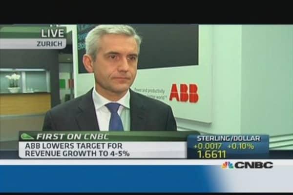 ABB cuts revenue guidance: CEO