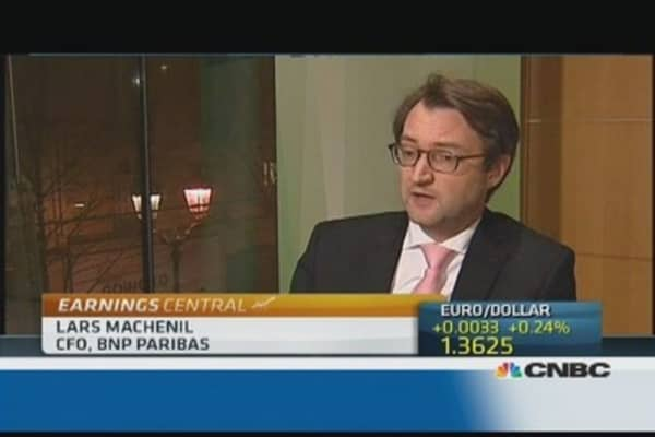BNP Paribas impacted by legal provisions: CEO
