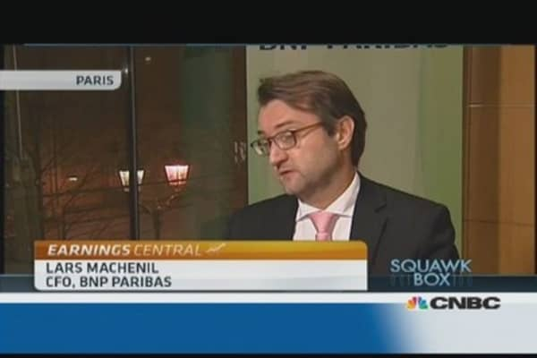 Stress tests will help recovery: BNP Paribas CEO