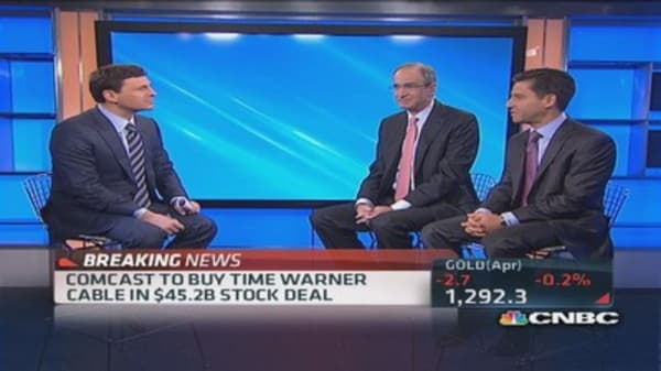 Customers are big winners in Comcast deal: TWC CEO