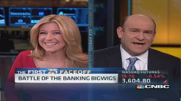 Fed faceoff: Draghi vs. Bernanke