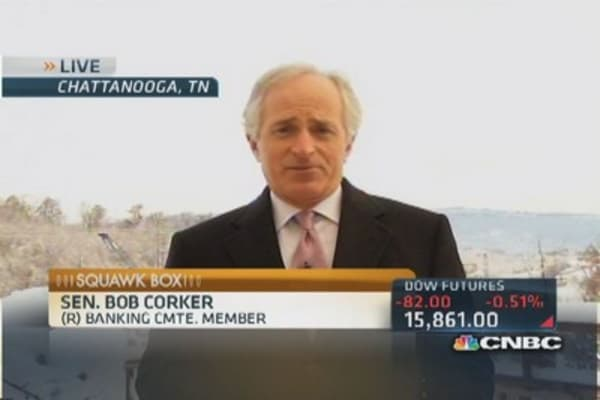 Sen. Corker: There was no game plan
