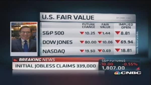 Inital jobless claims 339,000