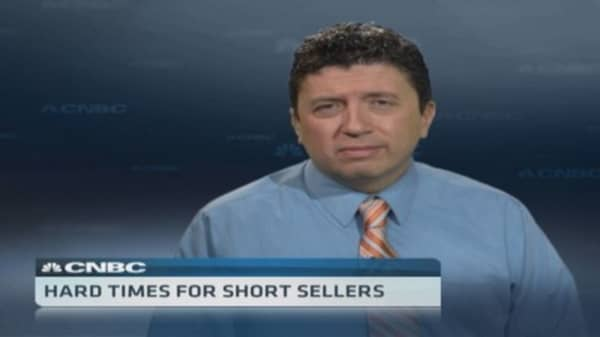 Hard times for short sellers