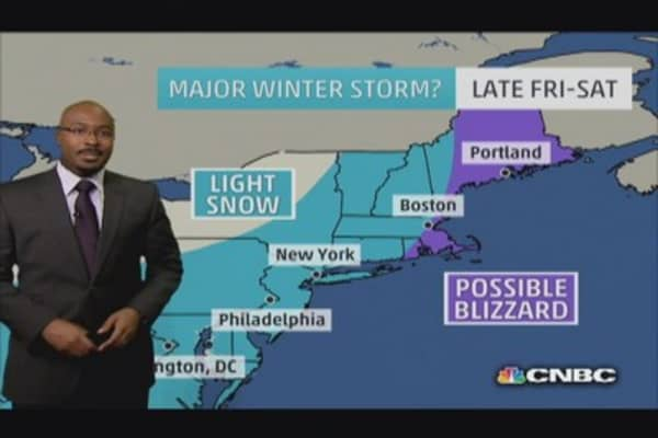 Pax retreats Northeast, but another storm on the way